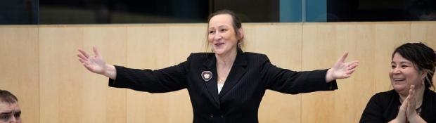 Premier Caroline Cochrane
